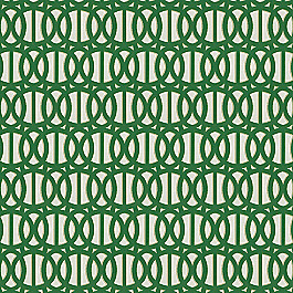 Emerald Green Trellis Outdoor Fabric | Reflex Emerald