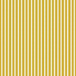 Bright Yellow Thin Stripe Outdoor Fabric | Shore Citron