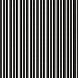 Black & White Thin Stripe  Outdoor Fabric | Shore Classic