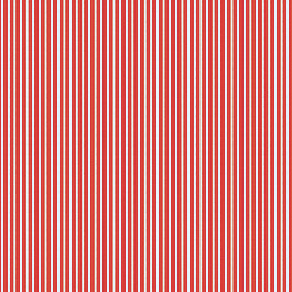 Flame Red Thin Stripe Outdoor Fabric | Shore Flame