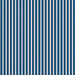 Bright Blue Thin Stripe Outdoor Fabric | Shore Regatta