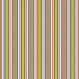 Yellow & Taupe Stripe Outdoor Fabric | Token Caribbean