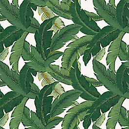 Green Banana Leaf Fabric Be Leaf It Palm