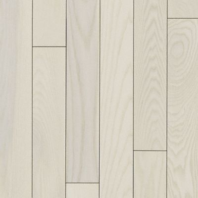 3/4 x 5 Matte Carriage House White Ash