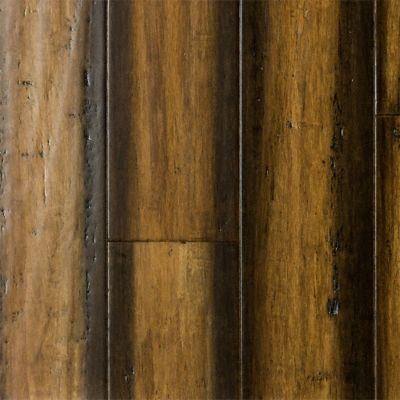 3 8 x 3 7 8 engineered carbonized strand bamboo for Morning star xd bamboo flooring