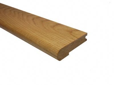 3/4 x 3 1/4 x 6.5 LFT Red Oak Stair Nose