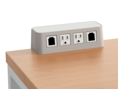 2 Receptacles 2 Data Accessory