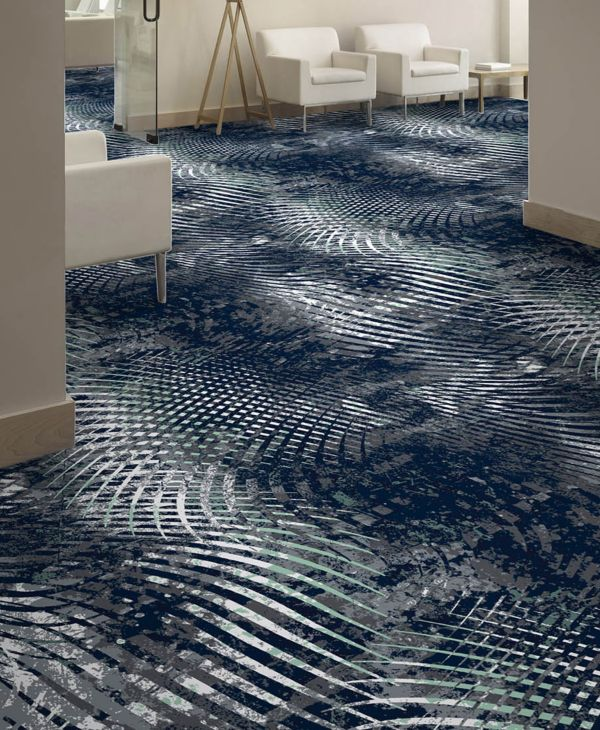 The result is a unique layering effect that brings tremendous depth and richness to carpet design.