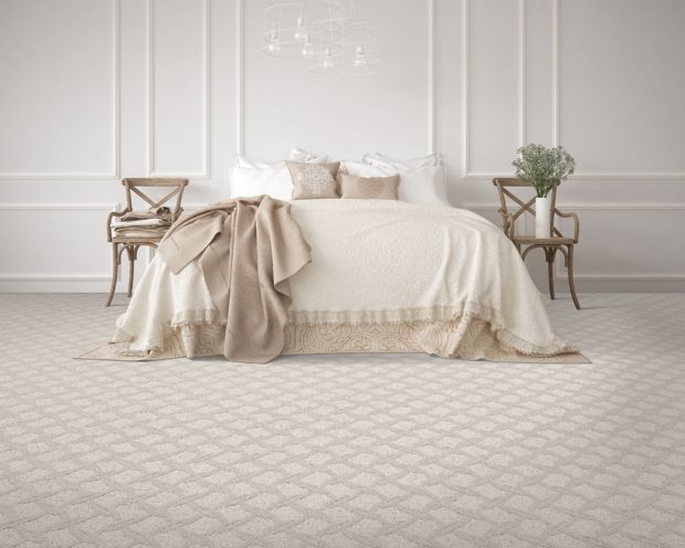 Polished Trellis Burlap 514