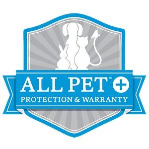 Blue All Pet Warranty Label
