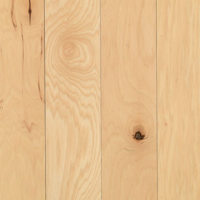 Rockingham Hickory Solid 5 Hickory Natural