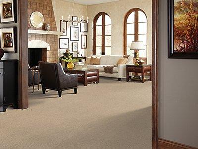 Room Scene of Hand Carved - Carpet by Mohawk Flooring