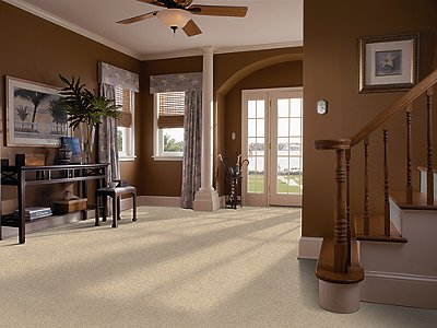 Room Scene of Brilliant Design - Carpet by Mohawk Flooring