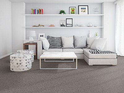 Room Scene of Soft Breeze I - Carpet by Mohawk Flooring
