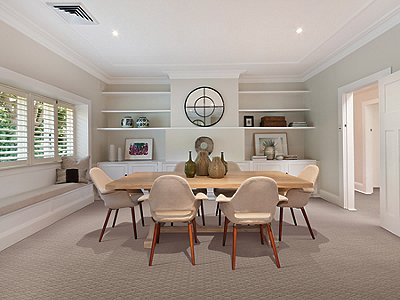 Room Scene of Endless Radiance - Carpet by Mohawk Flooring