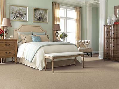 Room Scene of Tahitian Escape Solid - Carpet by Mohawk Flooring