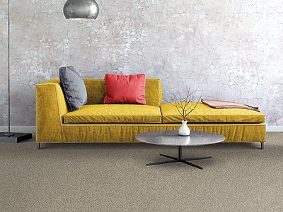 Room Scene of Soft Form I - Carpet by Mohawk Flooring