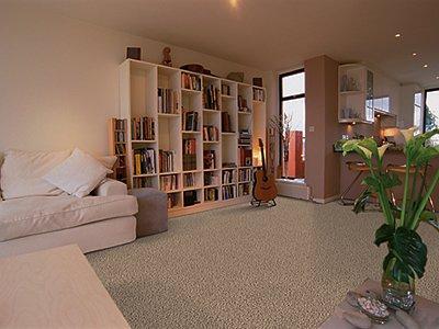 Room Scene of Heavenly Harbour - Carpet by Mohawk Flooring
