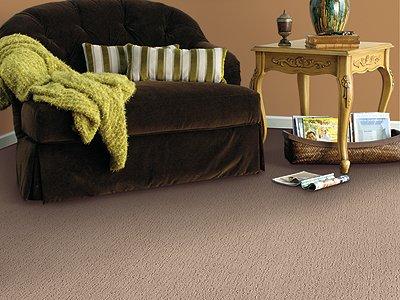 Room Scene of Glamorous Touch - Carpet by Mohawk Flooring