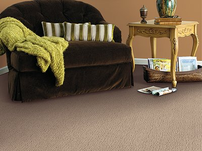 Room Scene of Chromatic Couture - Carpet by Mohawk Flooring