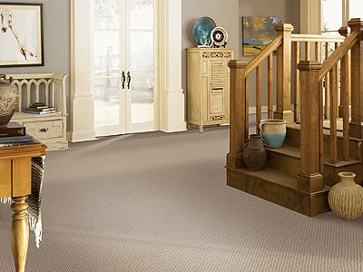 Room Scene of Peaceful Harmony - Carpet by Mohawk Flooring