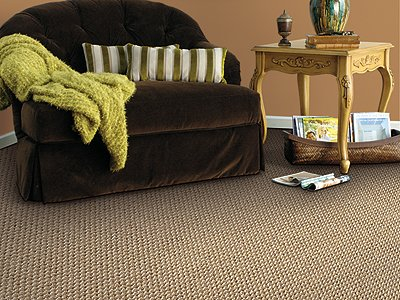 Room Scene of River Creek - Carpet by Mohawk Flooring
