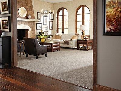 Room Scene of Soft Whisper II - Carpet by Mohawk Flooring