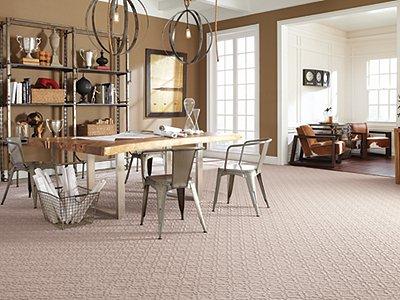 Room Scene of Highland Station - Carpet by Mohawk Flooring