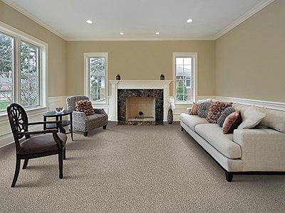 Room Scene of Subtle Influence II - Carpet by Mohawk Flooring
