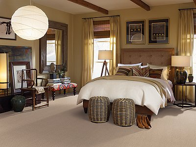 Room Scene of Thompson Square - Carpet by Mohawk Flooring