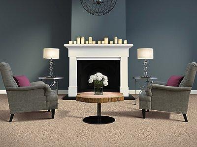 Room Scene of Serene Harmony - Carpet by Mohawk Flooring