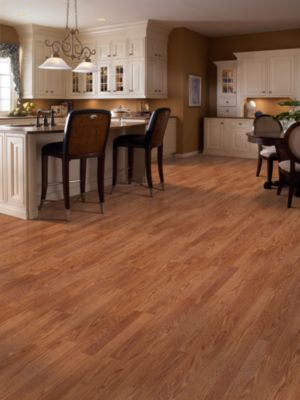 Photo of the flooring in a room