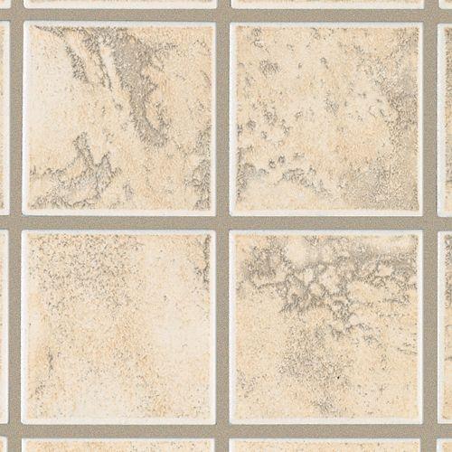 Pavin Stone Wall White Linen