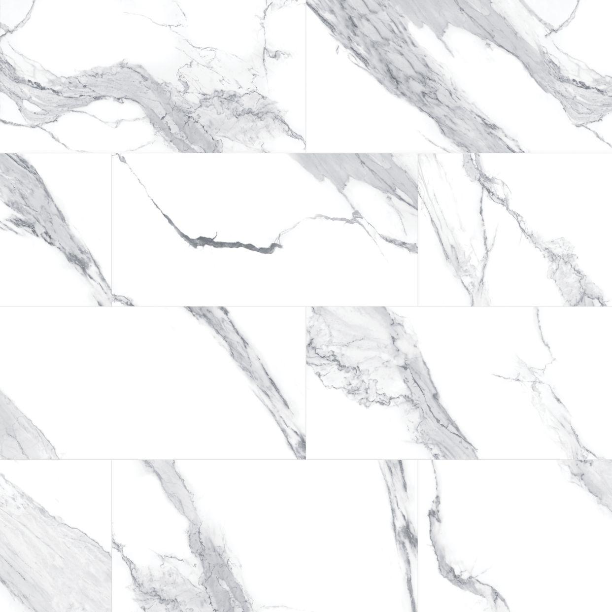 Montrelle Statuario Blanc