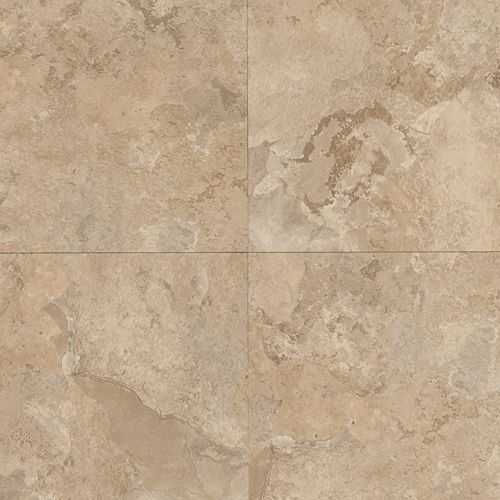 Mohawk Industries Permanence Tile 18x18 Cream Luxury Vinyl Atlanta