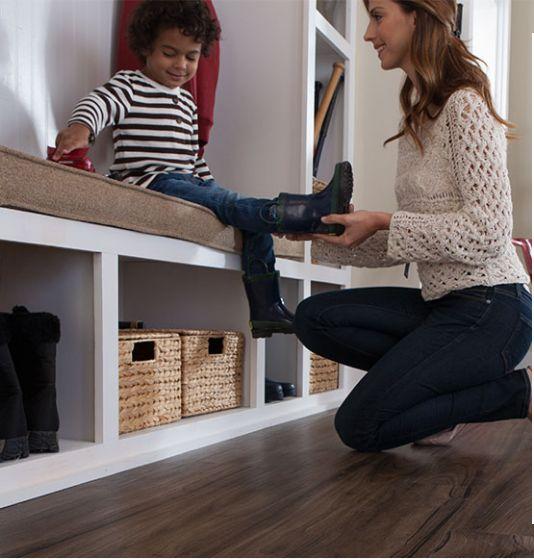 Mohawk Flooring Vacuum: Cottage Villa, Canyon Echo Oak Laminate Flooring