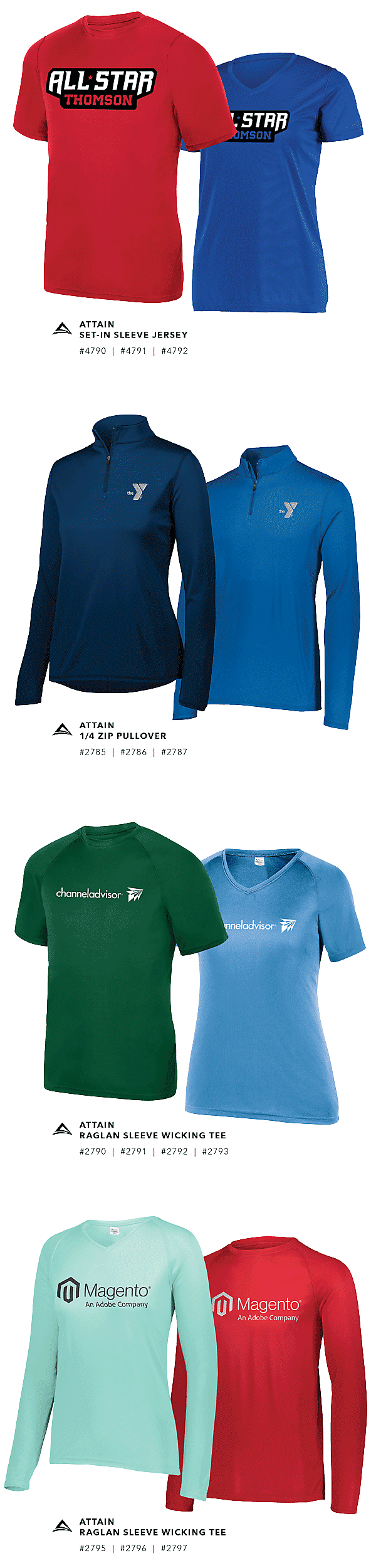 e33231bf574b Wholesale Sports Apparel & Bulk Team Clothing | Augusta Sportswear ...