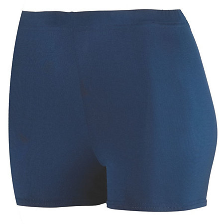 "Ladies Poly/Spandex 2.5"" Short"