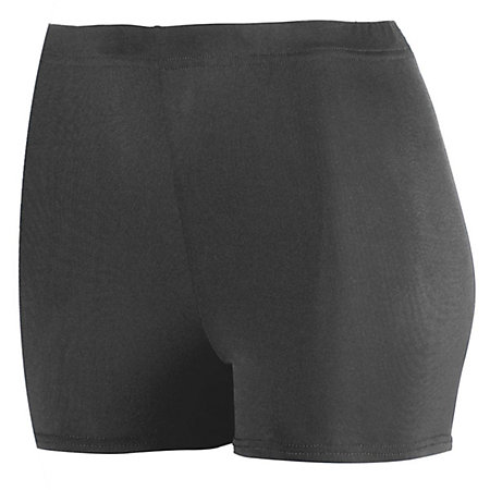 "Ladies Poly/Spandex 2.5"" Shorts"
