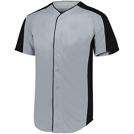 Youth Full Button Baseball Jersey