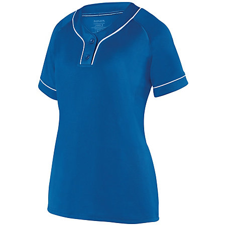 Ladies Overpower Two-Button Jersey