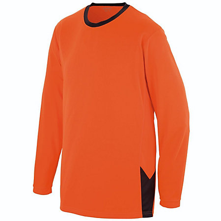 Youth Block Out Long Sleeve Jersey