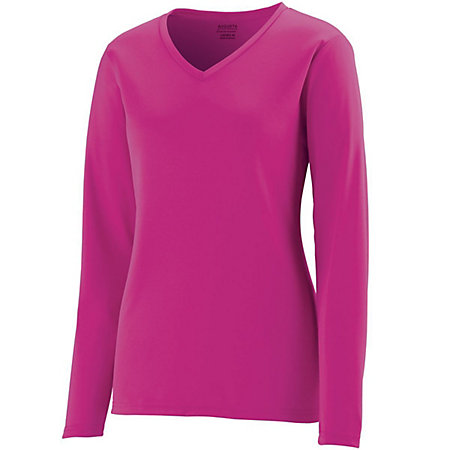 Girls Long Sleeve Wicking T-Shirt
