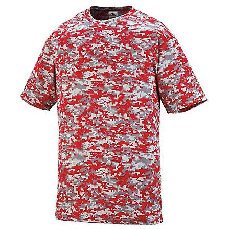 Youth Digi Camo Wicking T-Shirt