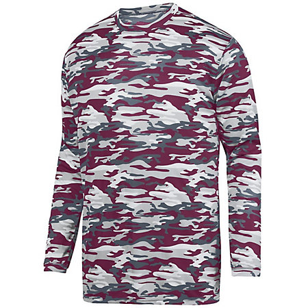 Mod Camo Long Sleeve Wicking Tee