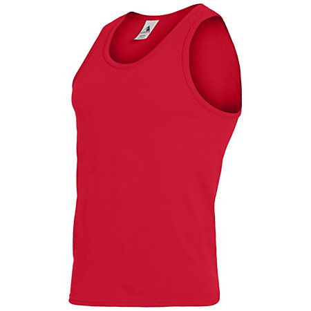 Youth Poly/Cotton Athletic Tank