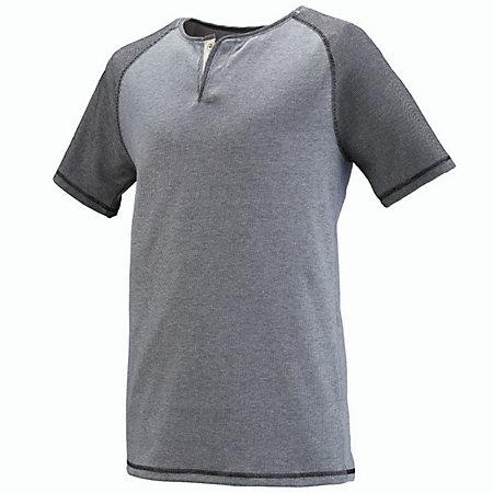 Linear Fusion Short Sleeve Henley