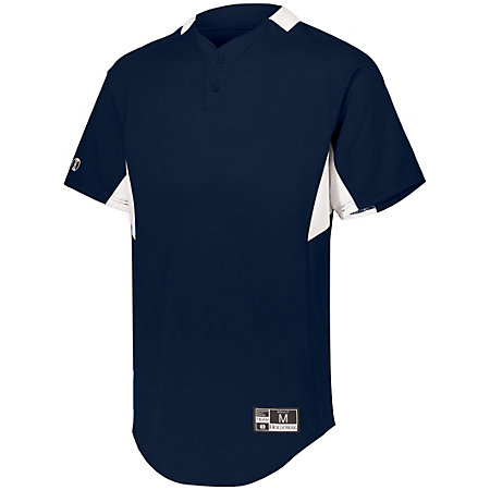 Youth  Game7 Two-Button Baseball Jersey