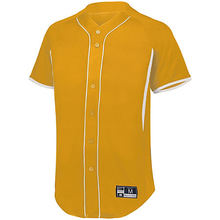 Youth  Game7 Full-Button Baseball Jersey