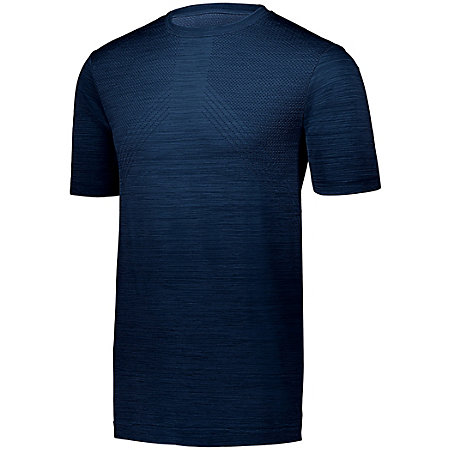 Striated Shirt Short Sleeve